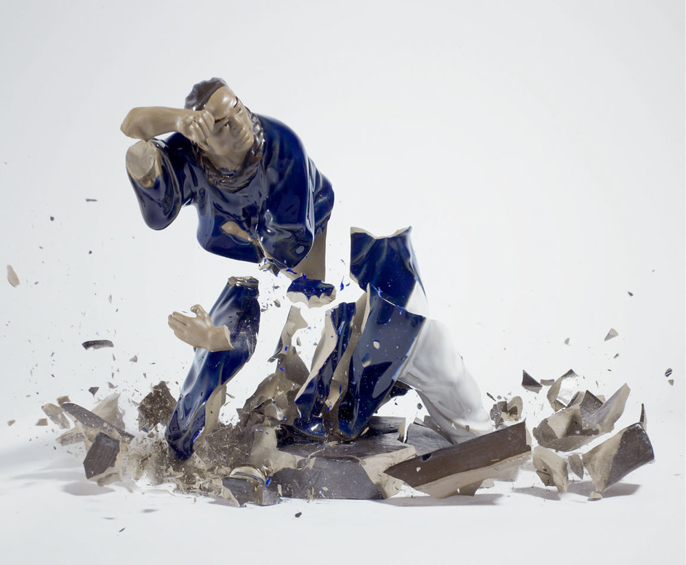 Untitled (Blue Man) © Martin Klimas, Courtesy of The Foley Gallery