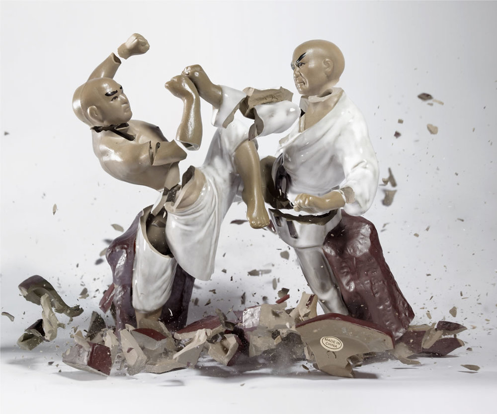 Untitled (Fighters) © Martin Klimas, Courtesy of The Foley Gallery