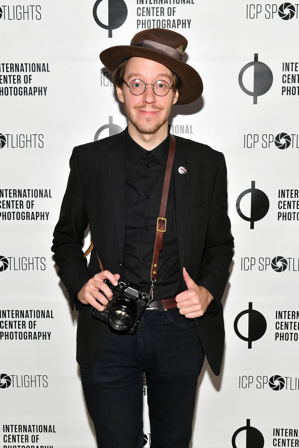 Michael Mooney attends the ICP Spotlights Luncheon Honoring Mickalene Thomas ©Getty Images for ICP