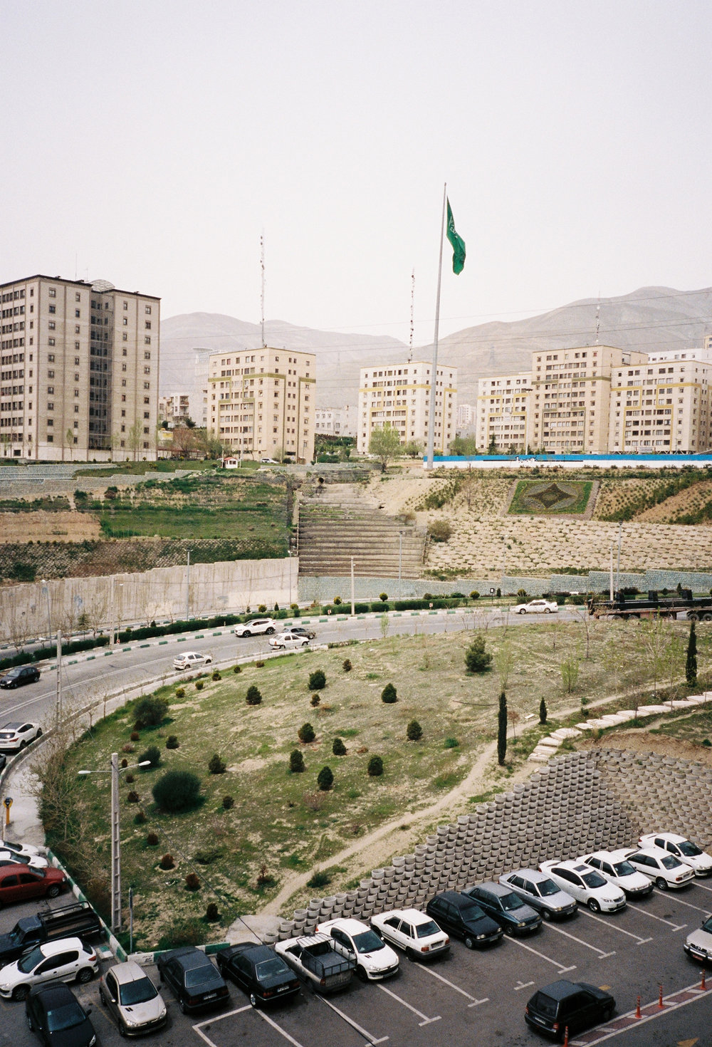 District of Sa'adat Abad, north Tehran, 2017. © Laure d'Utruy