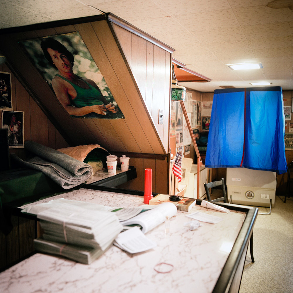Image: © Ryan Donnell, The Polling Place Project, Private Residence, Philadelphia