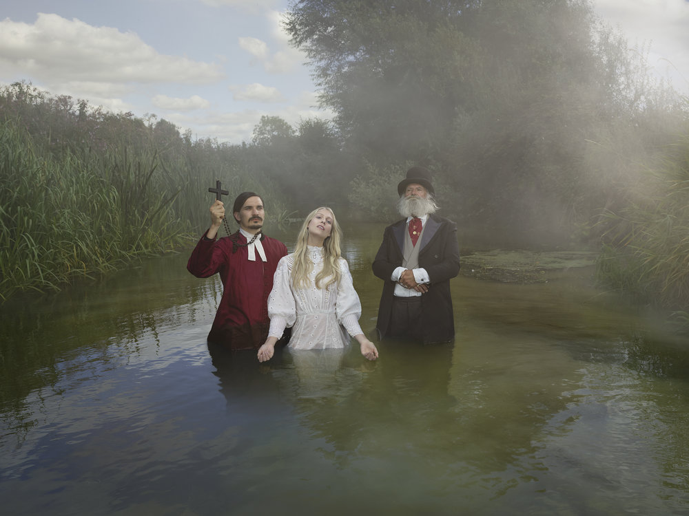 Old Father Thames - Baptism. © Julia Fullerton-Batten
