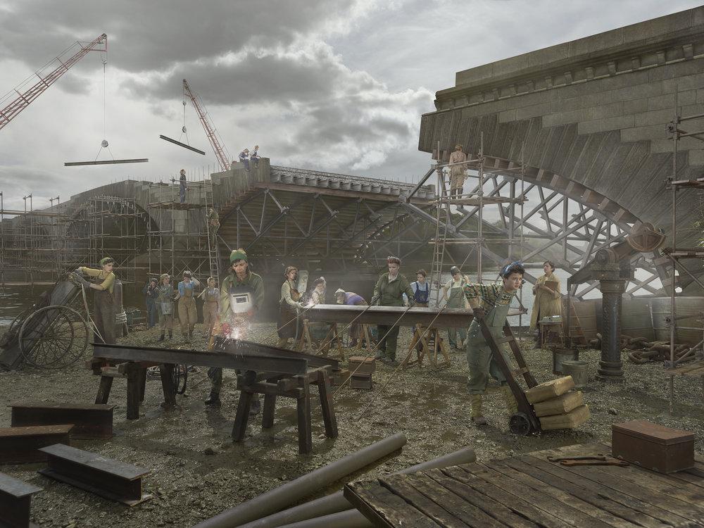 Old Father Thames - The Ladies Bridge, Copyright: Julia Fullerton-Batten