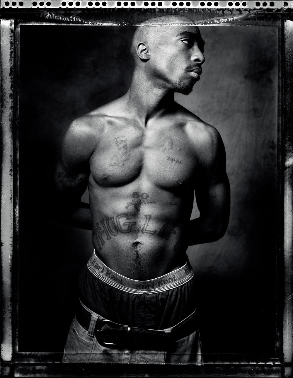 Tupac Shakur, Tribeca, New York, 1993 © Danny Clinch