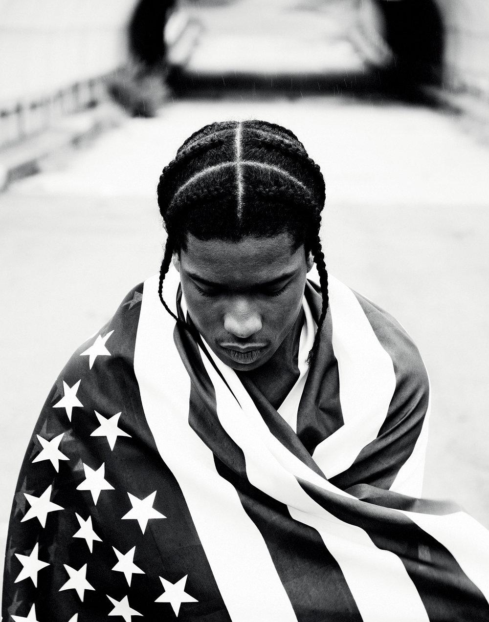 A$AP Rocky, Long.Live.A$AP, Harlem, 2012 © Phil Knott