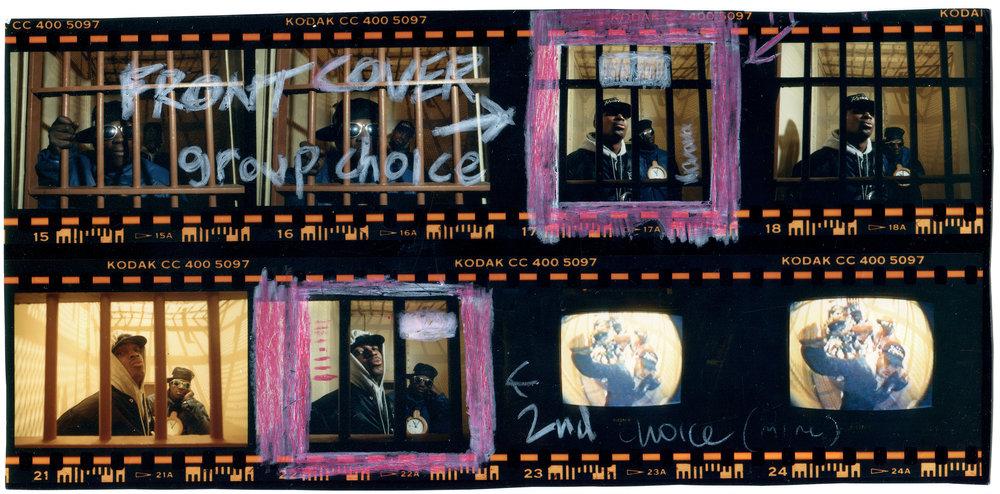 Public Enemy Hell's Kitchen, New York, 1988 © Glen E. Friedman