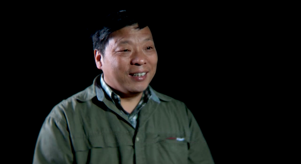 Still frame of Lu Guang in an interview with World Press Photo © World Press Photo