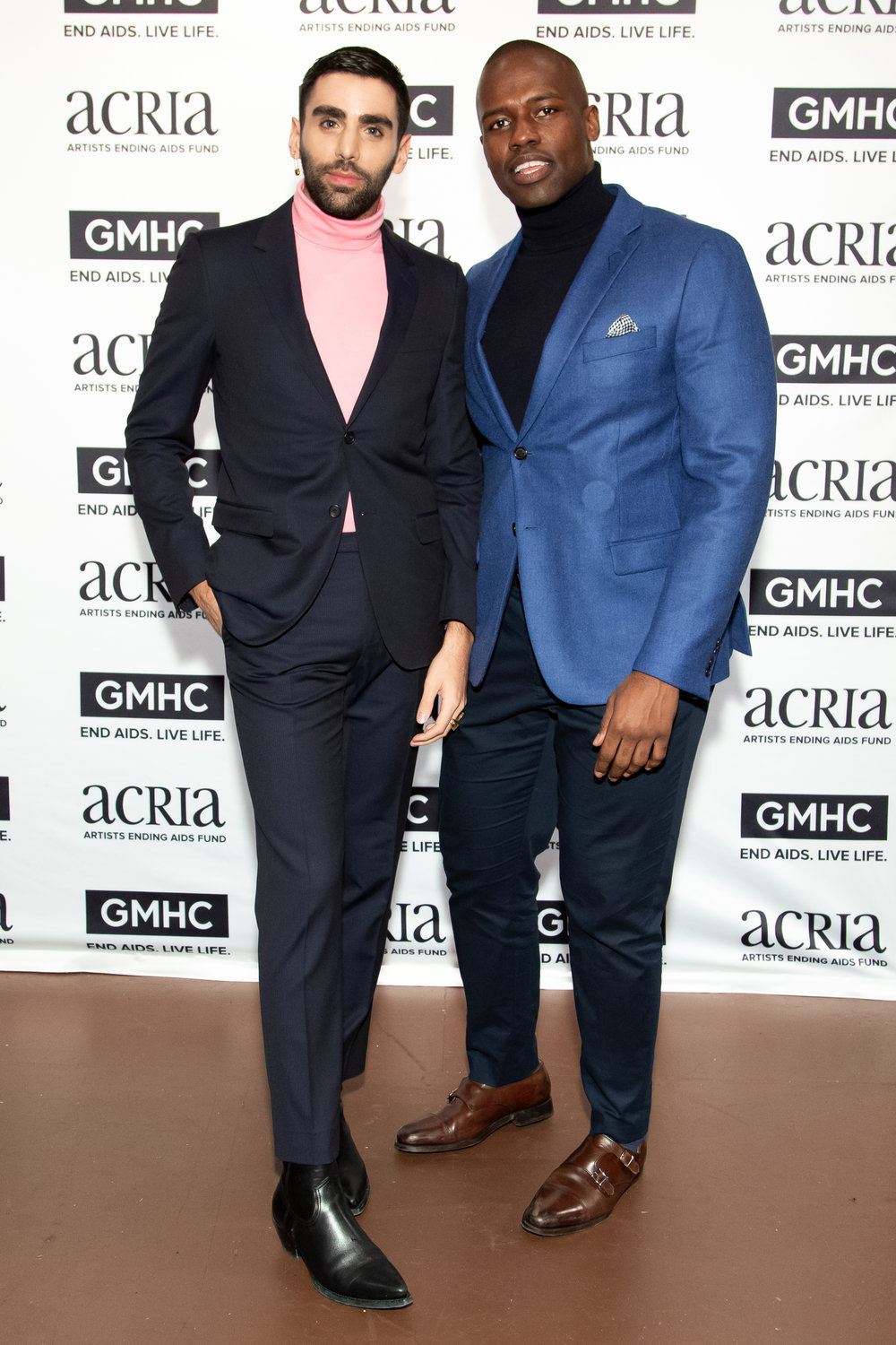 Phillip Picardi & Dr. Darien Sutton, Photo Courtesy of BFA Images