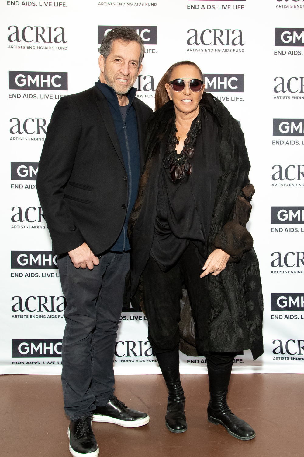 Kenneth Cole & Donna Karan, Photo Courtesy of BFA Images
