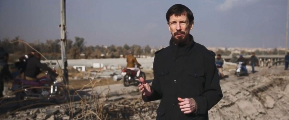 British hostage John Cantlie seen in a video published by the ISIS terror group on Dec. 7, 2016.