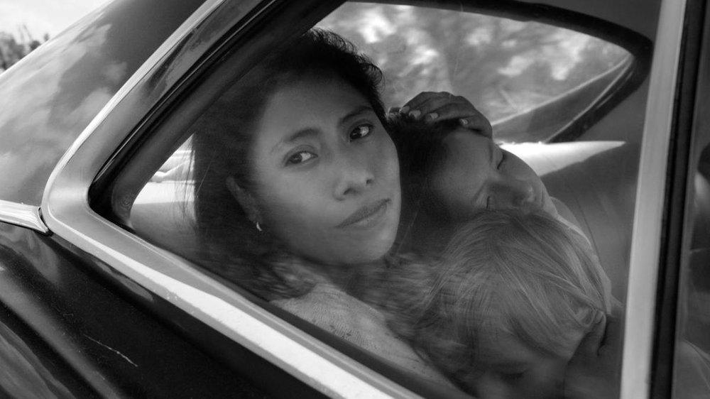 Yalitza Aparicio in a scene from 'Roma'. Courtesy Netflix