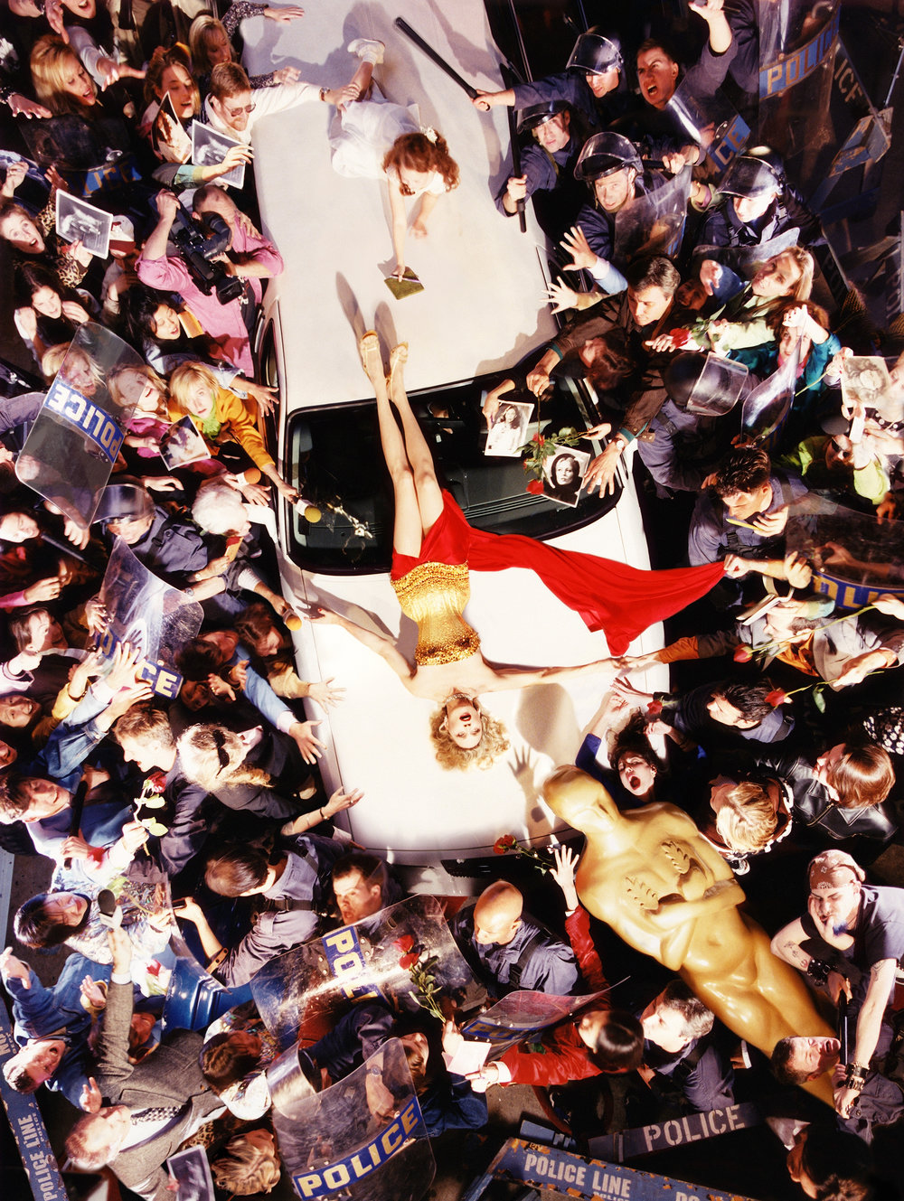 """Faye Dunaway: Day of the Locust, 1996"". David LaChapelle. © David LaChapelle / Courtesy Staley-Wise Gallery, New York"