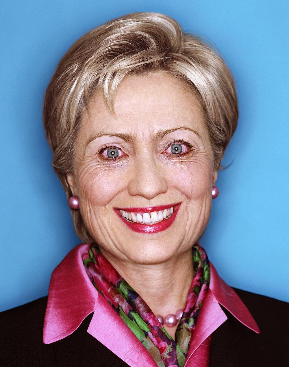 """Hillary Clinton: Politician's Paradox, 2010."" David LaChapelle. © David LaChapelle / Courtesy Staley-Wise Gallery, New York"