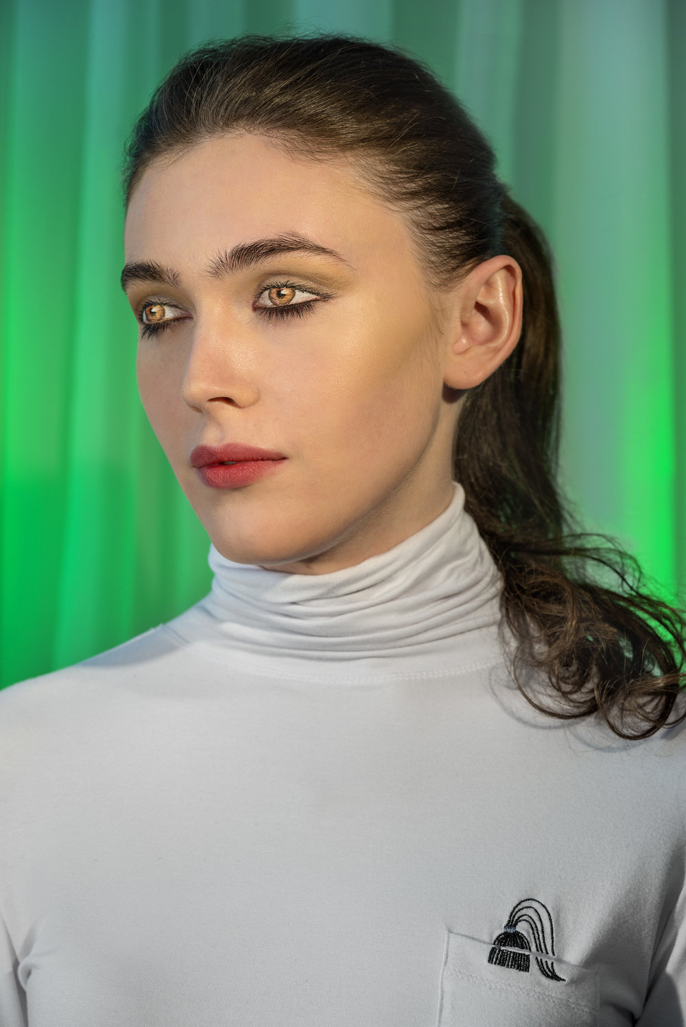 """How We See/Edie (Green)"", 2015. Pigment   Print .  Laurie Simmons. © Courtesy of Laurie Simmons"