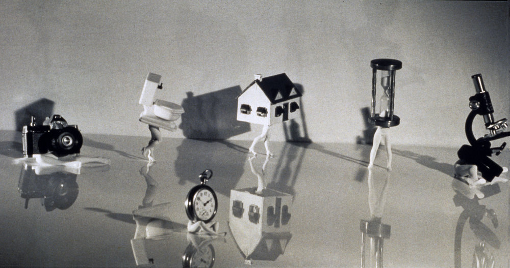 """Magnum Opus I (the Bye-Bye)"", 1991. Gelatin Silver Print .  Laurie Simmons. © Courtesy of Laurie Simmons"