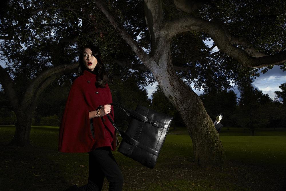 """Susan J Chen, Modern Fairy Tales, """"Little Red Riding Hood"""""""