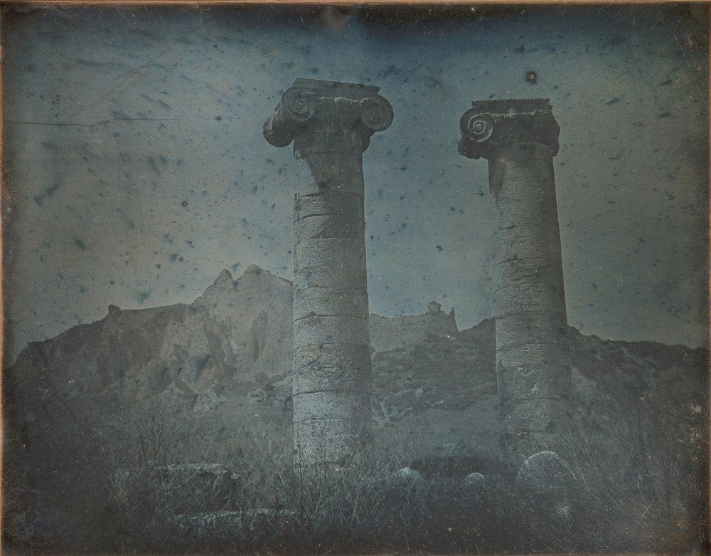 "Girault de Prangey, ""Temple of Artemis, Sardis, 1843"""