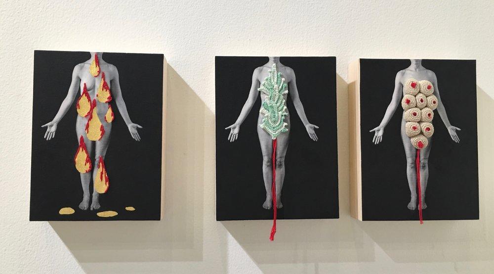 Anatomy is Destiny ,Marina Font  PhotoLA, Sunday, February 3, Barker Hangar Photo by Christine La Monte