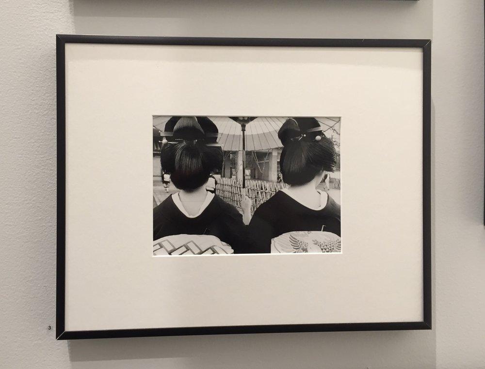 Two Geishas, 1950's Kyoto, Japan - Kiichi Asano/Stephen Cohen Gallery/LA, CA  Photo By Christine La Monte