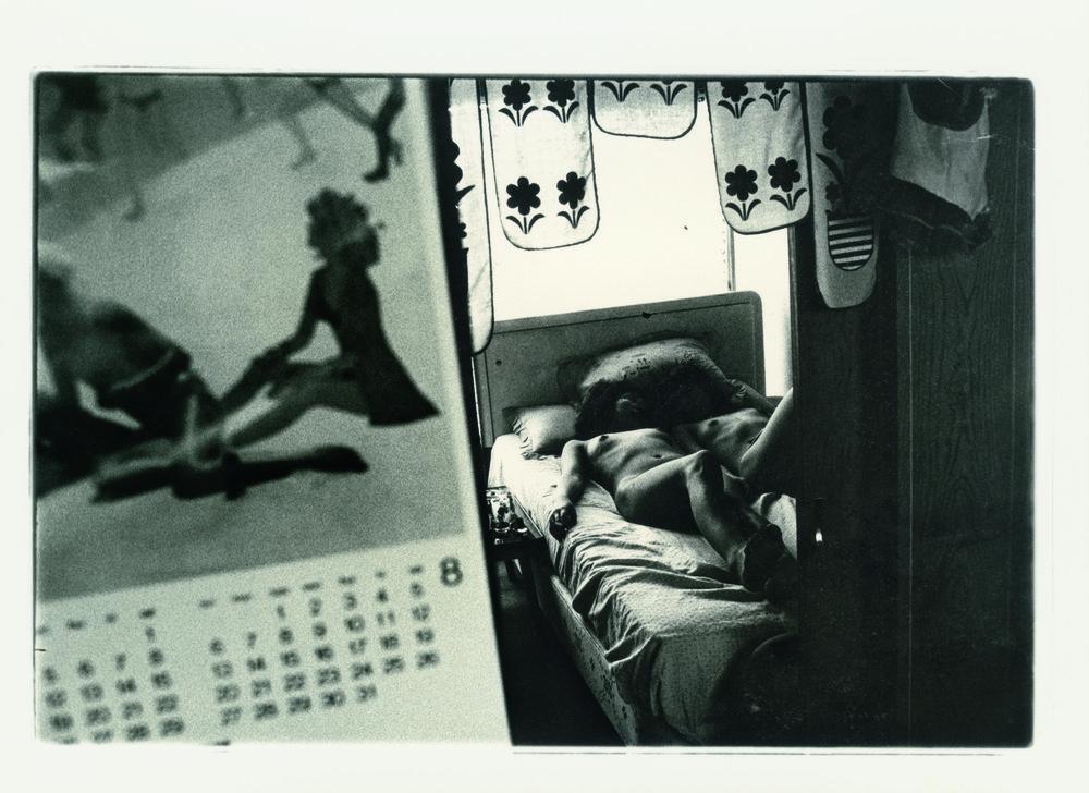 Ohne Titel, a.d.S. Theater of Love, 1965 . © Nobuyoshi Araki Courtesy Privatsammlung.  Impossible Love  by Araki, published by  Steidl.