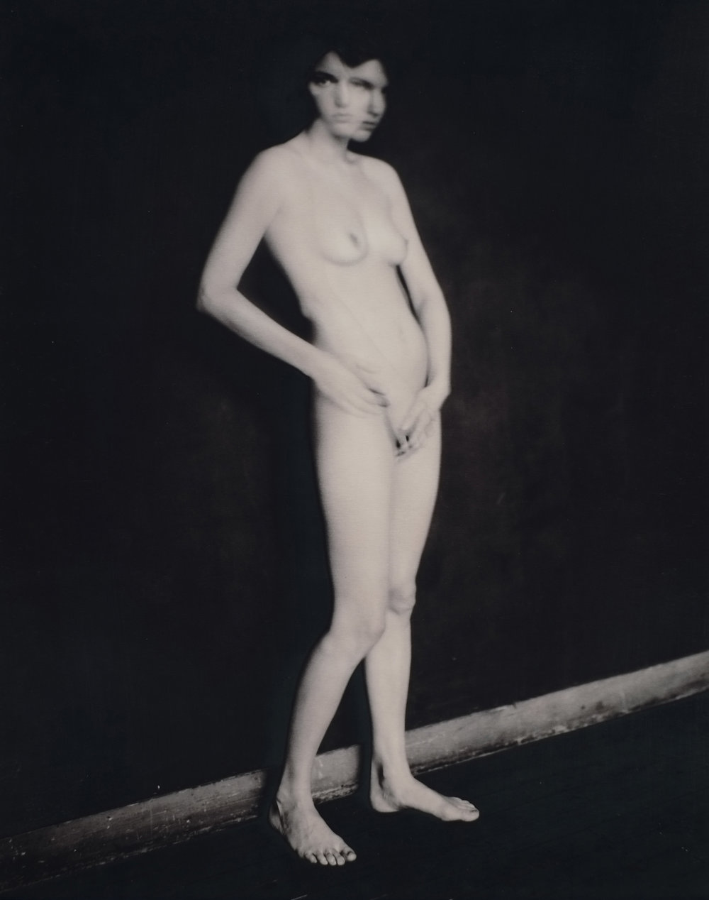 """""""Ben, Paris"""" 2004. Pigment print on baryta paper. Image, 9 1/2 x 7 1/2 inches. Paper, 10 3/4 x 8 3/8 inches. ©Paolo Roversi. Courtesy of Pace/MacGill Gallery, New York"""