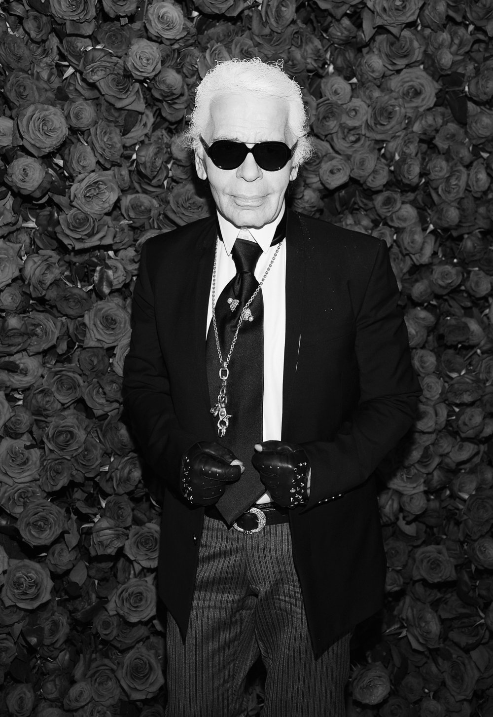 Not content to toil in fashion, Karl Lagerfeld wanted to dominate it, to preside over it, and to make grand pronouncements about how it should evolve. ©Dimitrios Kambouris/Getty. Image courtesy of Getty Images and The New Yorker