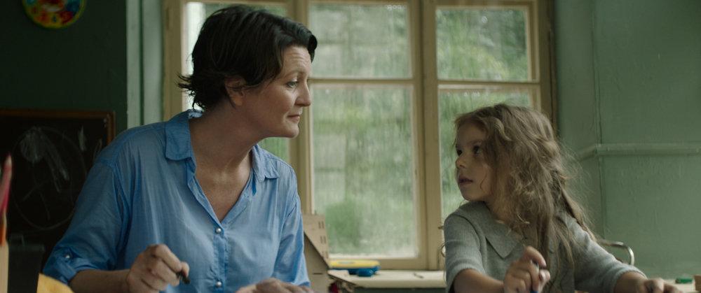 Halldóra Geirharðsdóttir and Margaryta Hilska in WOMAN AT WAR, a Magnolia Pictures release. Photo courtesy of Magnolia Pictures.