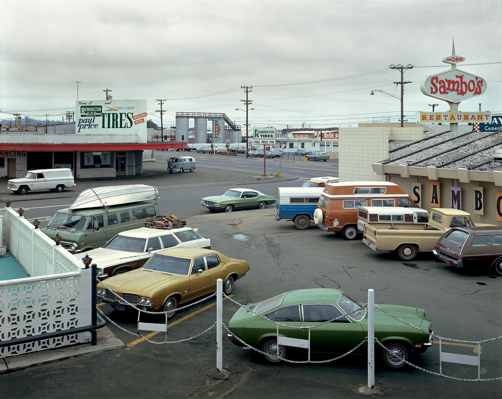 Aperture Photographs  (Aperture, 2019). By Stephen Shore.  Fifth Street and Broadway, Eureka, California, September 2, 1974.  ©Stephen Shore. Courtesy 303 Gallery, New York