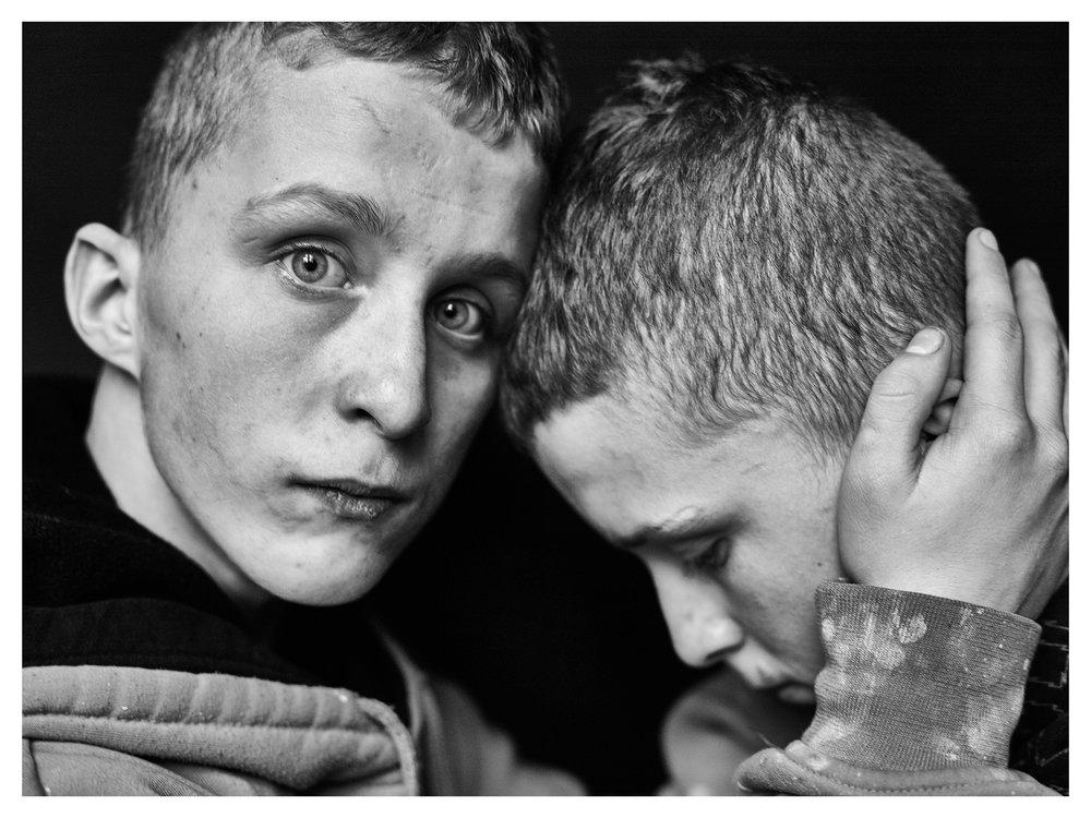Adrian and Andrzej. © Zuza Karajewska