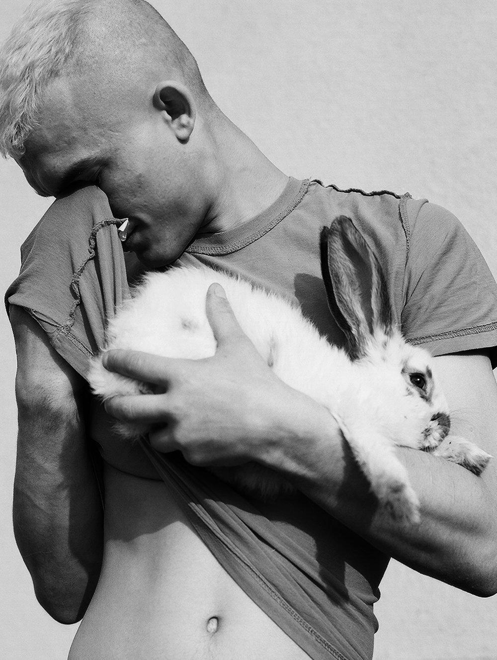 Rabbit. © Zuza Karajewka