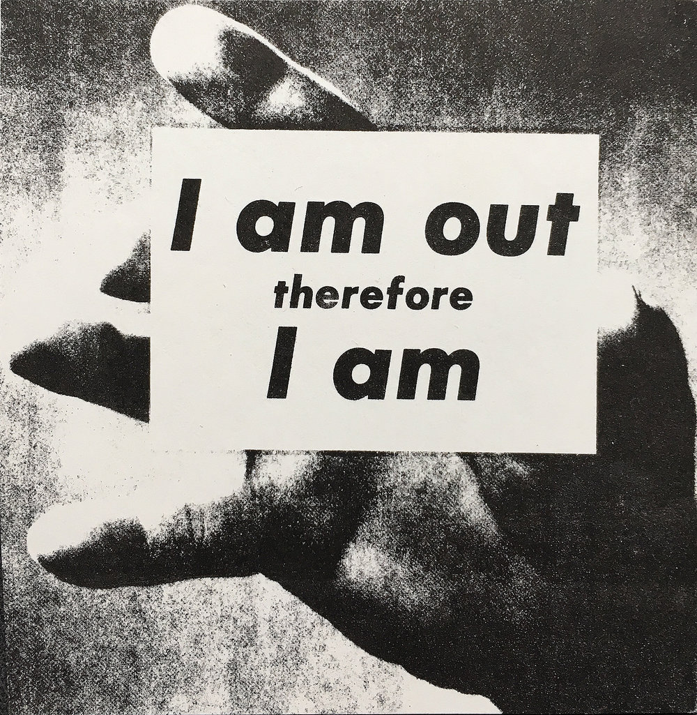 © Adam Roltson, I am out therefore I am, Art after Stonewall, Rizzoli New York