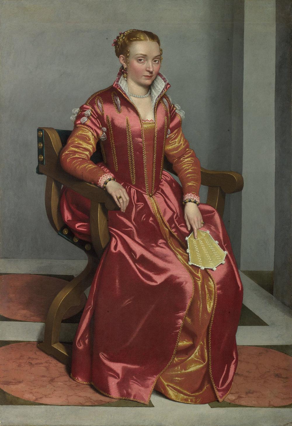 Portrait of a Lady,  Giovanni Batista Moroni