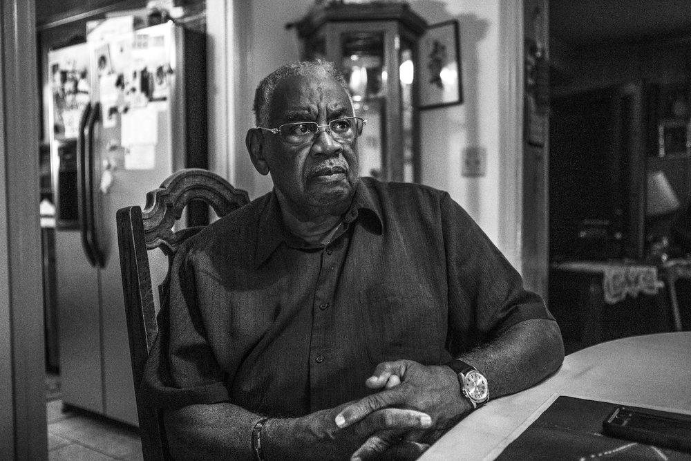 Charles Rayford, 78. © Janice Milhem