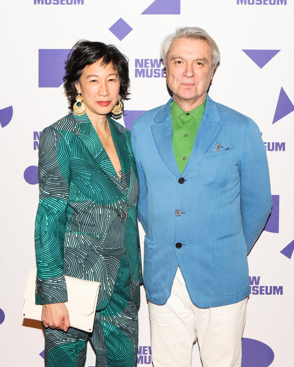 Karen Wong and David Byrne