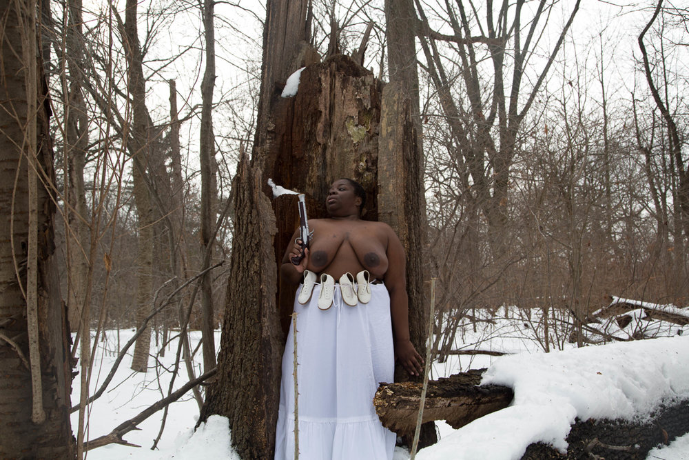 Nona Faustine,  Lobbying the Gods for a Miracle,  Brooklyn, 2016