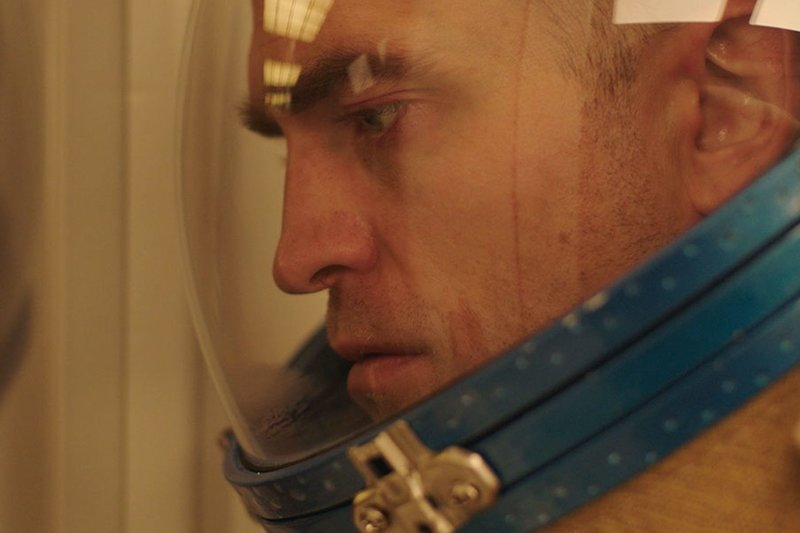 In  High Life,  a father (Robert Pattinson) and his daughter are stuck on a mysterious space mission. (A24)