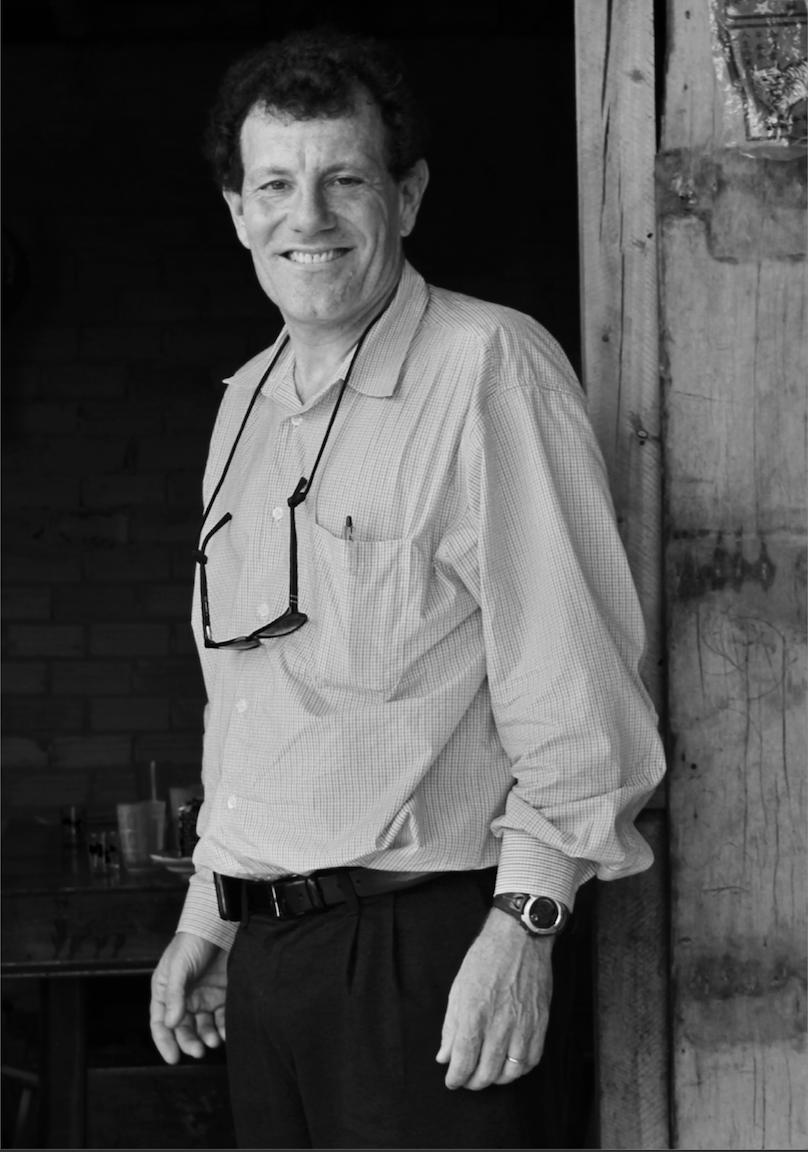 Portrait of Nicholas Kristof. Courtesy of Nicholas Kristof.
