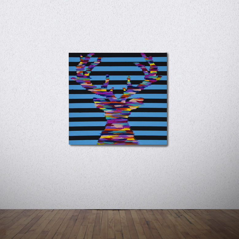 Blurred Lines - SOLD