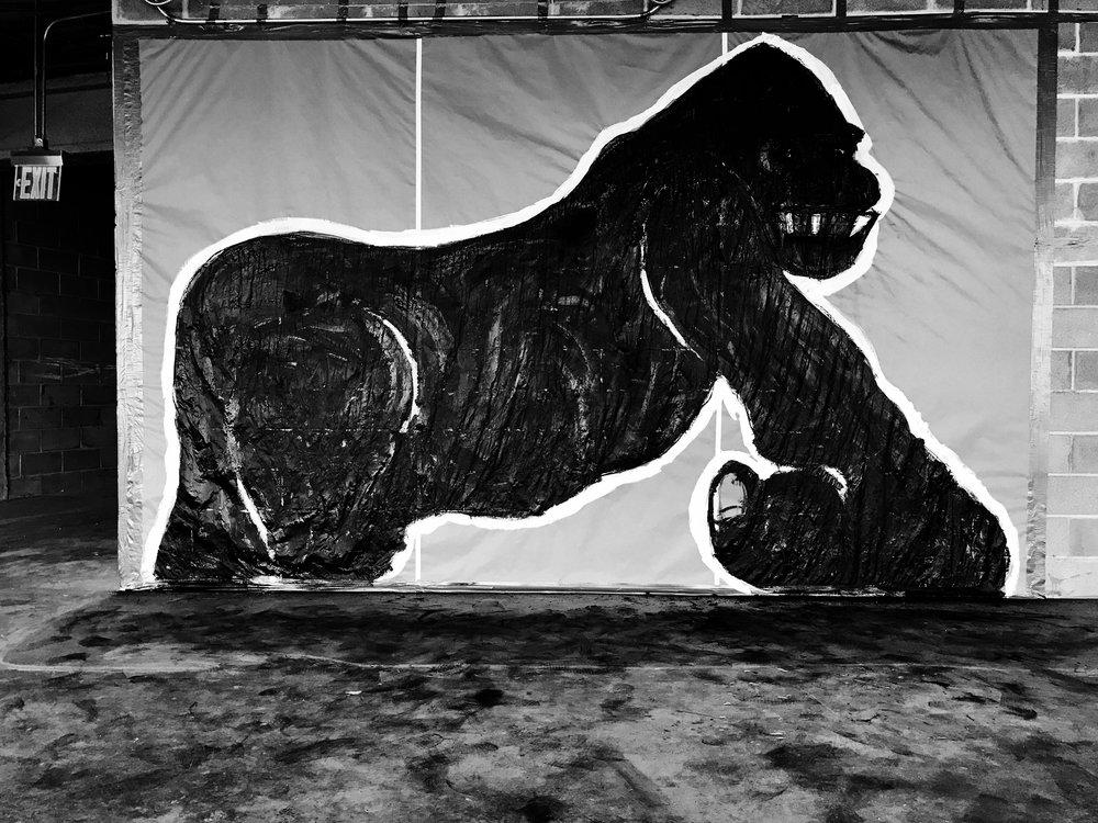 Study for a massive sculpture progress