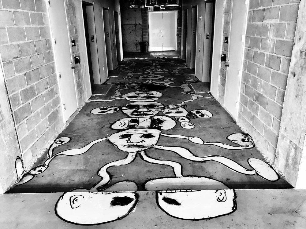 Floor piece nyc 2017