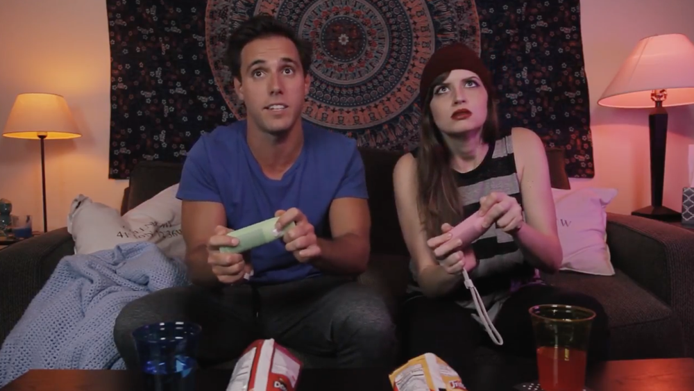 Best friend bonding time over Mario Kart is the best! Credit: YouTube