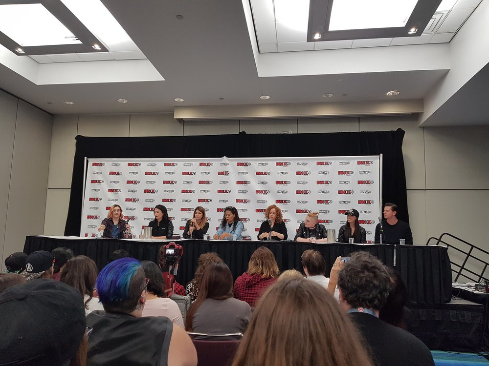 Majority of the Carmilla movie cast! Credit: Aria Bauer