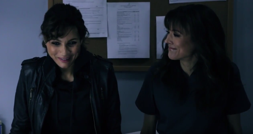 Riley (Hassler) and Gillian (Vassey) - ship it, I ship it!  Credit: tello films