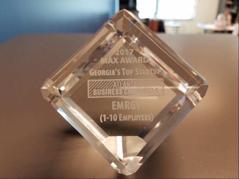 Emrgy's Award for Georgia's top startup