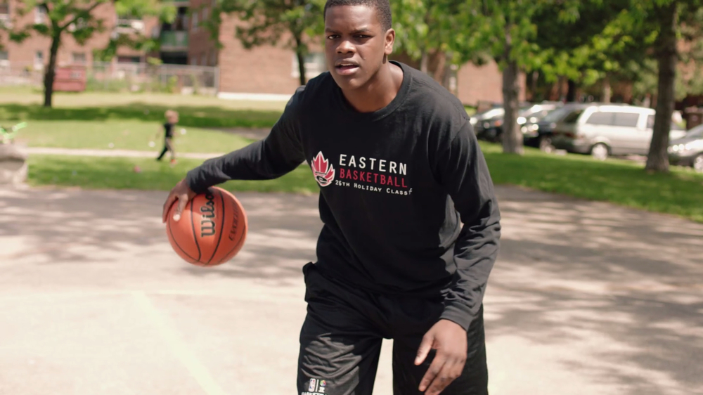 """Eastern"" looks at four students from a renowned Toronto high school with a great basketball program who find themselves competing for the school's last chance at championship glory. It will be featured at the Canadian Sport Film Festival in Toronto on Saturday, May 21."