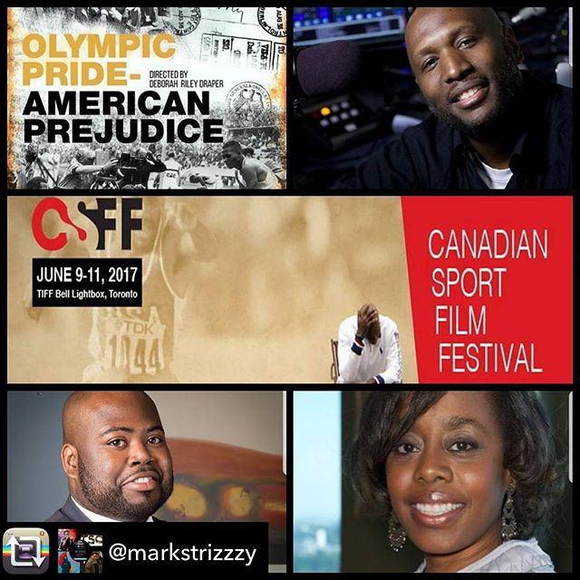 We have a phenomenal panel following our screening of Olympic Pride, American Prejudice today at 5PM! @markstrizzzy glad you're excited too!