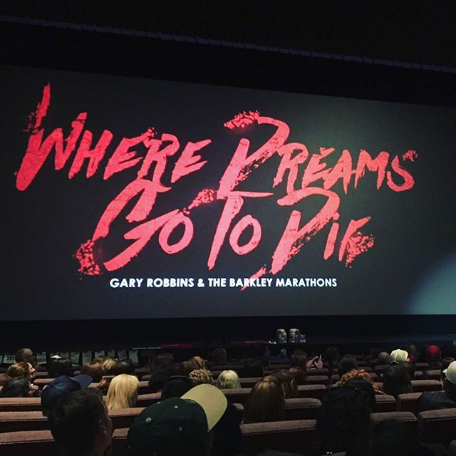 Yesterday we had the pleasure/pain of attending the Where Dreams Go To Die #documentary and Q&A at Regent Theatre, #Toronto. Directed by Ethan Newberry, the #film follows Gary Robbins on his quest to be the first Canadian to complete the Barkley Marathons.  #WhereDreamsGoToDie is currently on tour – more information here: www.wheredreamsgotodie.com  #ultrarunning #running #trailrunning @garyrobbins#GaryRobbins #BarkleyMarathons @ethannewberry#EthanNewberry #FrozenHeadStatePark #Suunto@arcteryx @suunto