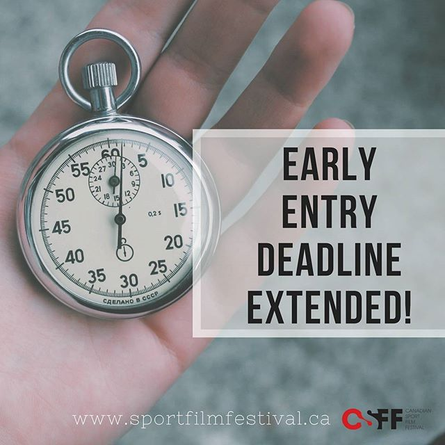 We've extended our early entry fee deadline to December 15th, 2017!  We'd love to celebrate our 10th Anniversary with you. Submit your film today! Link is in the bio 👆👆🏾👆🏿😉 Mark your calendars now. #CSFF18 will run in Toronto from June 7 - 9, 2018!  #filmfestival #filmmakers #film #submission #filmsubmissions