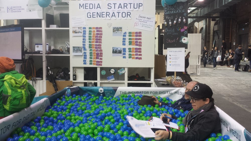 "It's fair to say everyone ""had a ball"" at re:publica"