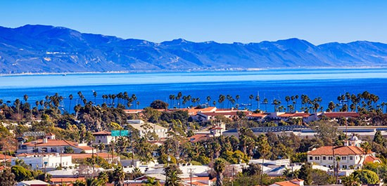 RELISH IN SUNSHINE+SEAS IN SANTA BARBARA (CALIFORNIA)